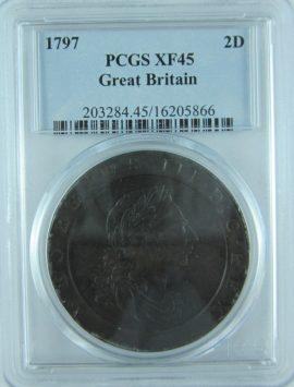 1797 Cartwheel 2d in XF