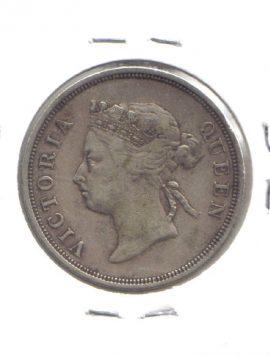 1888 Straits Settlements 50 cents