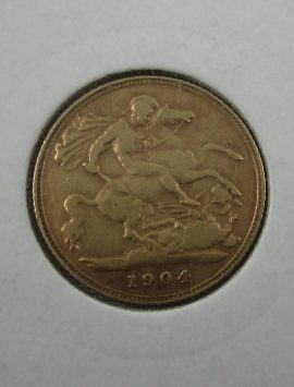 1904p (Perth) half sovereign