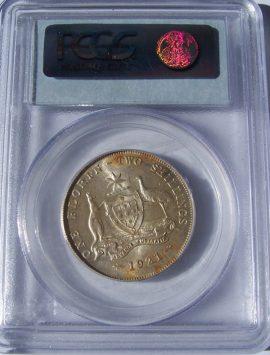 1921 Florin PCGS MS62