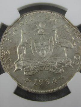 1934 Florin. MS61 - Nice coin