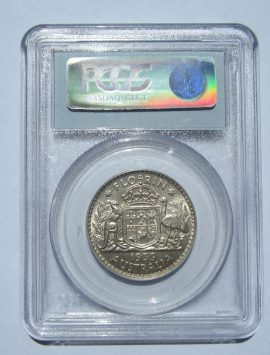 1939 Florin. PCGS MS61 - Uncirculated and RARE