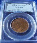 1939 Half Penny PCGS MS63BN - KM-41 Roo reverse