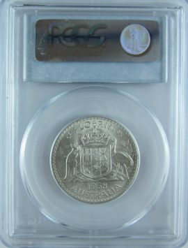 1958 Florin. PCGS MS63 CHOICE