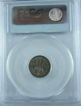 1961 Proof Threepence PCGS PR65. Quality coin.