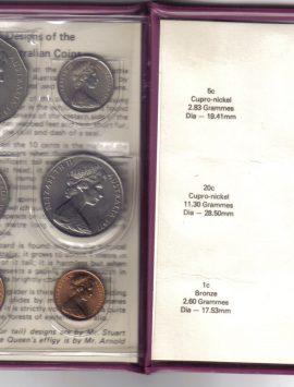 1977 Mint Coin Set