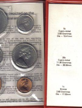 1978 Mint Coin Set