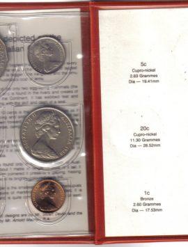 1980 Mint Coin Set