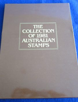 1981 Australia Post Annual Collection