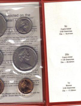 1981 Mint Coin Set