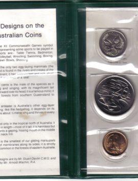 1982 Mint Coin Set