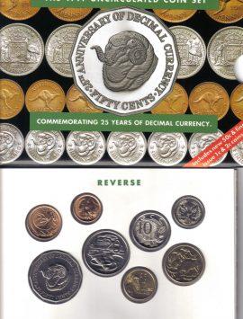 1991 Mint Coin Set