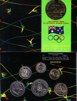 1992 Mint Coin Set