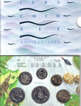 1993 Mint Coin Set
