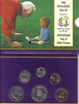 1999 Mint Coin Set