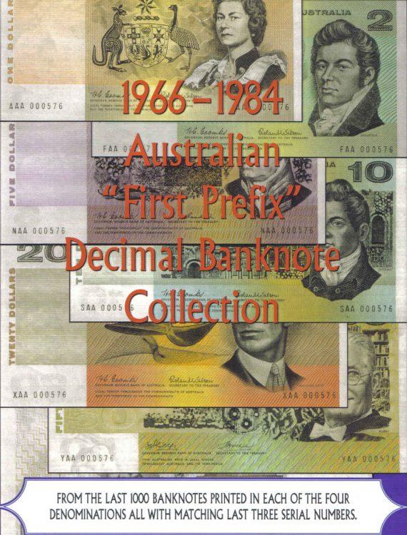 Rare First Prefix Decimal Collection
