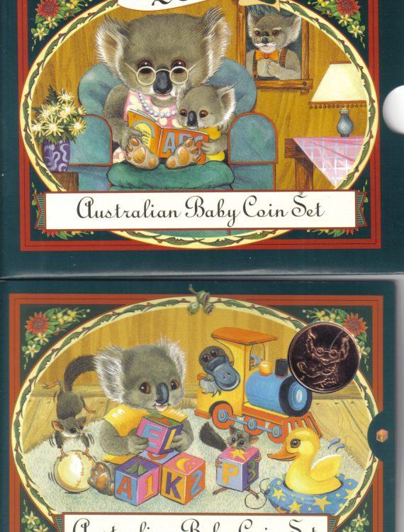 2000 Baby Mint Coin Set. Koala Series