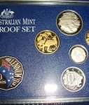 Year 2000 RAM Proof Set with coloured 50c