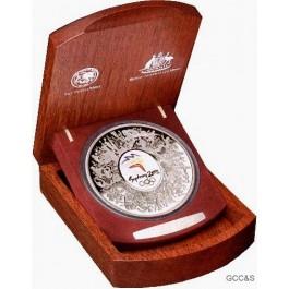 2000 Silver Olympic Kilo Coin