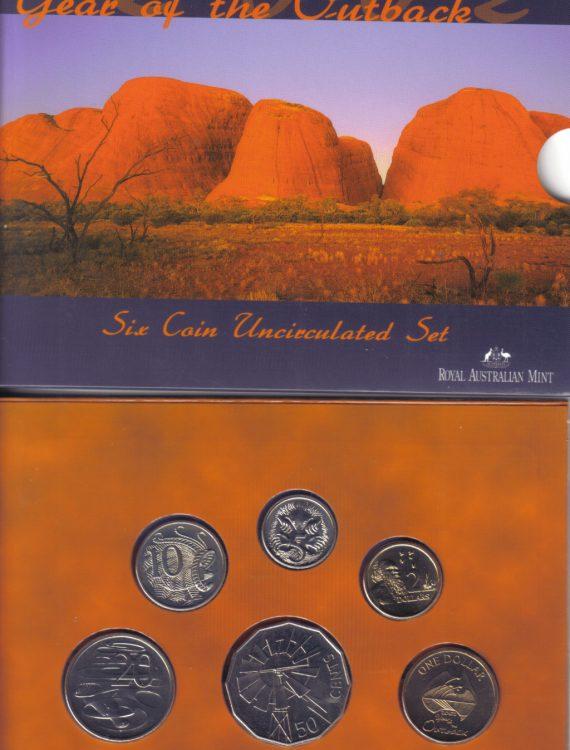 2002 Mint Coin Set
