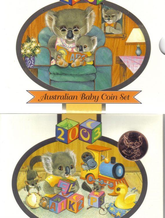 2003 Baby Mint Coin Set - Koala series