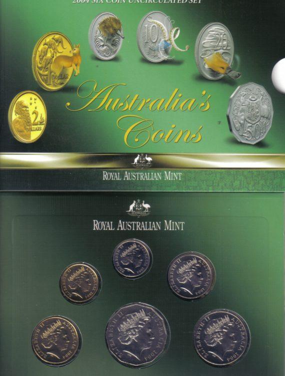 2004 Mint Coin Set