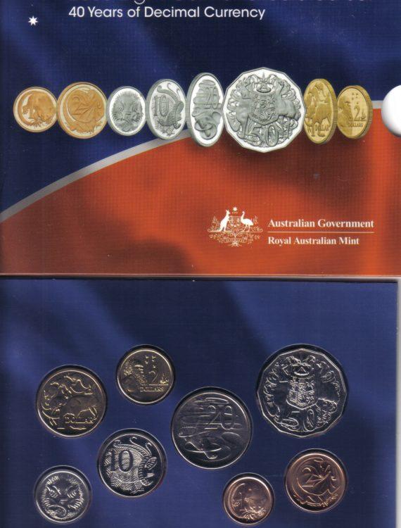2006 Mint Coin Set