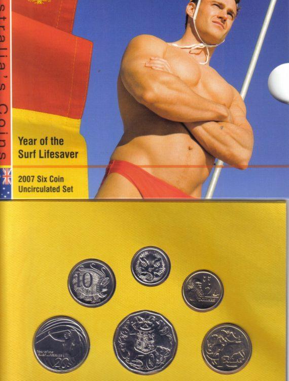 2007 Mint Coin Set