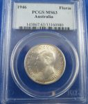 1946 Florin Brilliant PCGS MS63