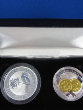 2000 Kookaburra and Medallion Set