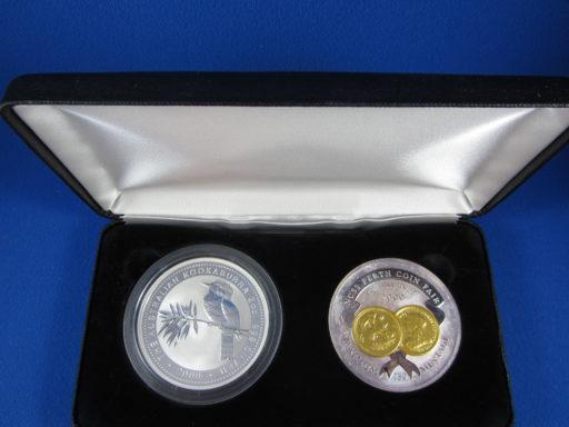 2000 Kookaburra and Medallion Set