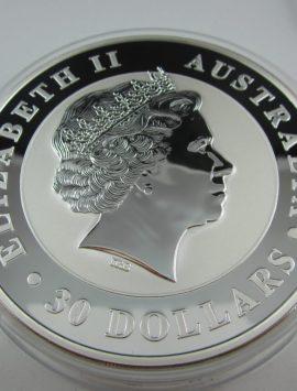 2011 Kookaburra Kilo Coin