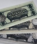 2013 CENTENARY of AUSTRALIAN BANKNOTES with COINS in RAM SLEEVE.