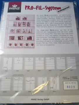 Prinz Pro-Fil Banknote sheets