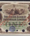 1905 One Pound Colour Trial - fantastic condition!