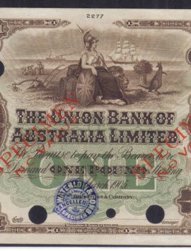 1905 One Pound Colour Trial - fantastic condition!