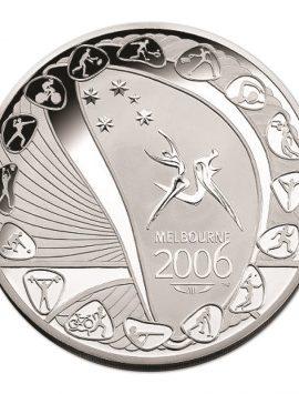 2006 Melbourne Games Silver KILO coin