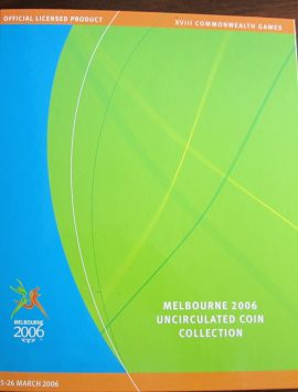 2006 Melbourne Commonwealth Games 50c set
