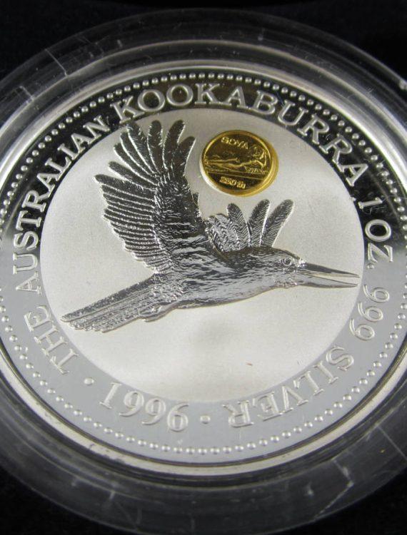 "1996 Kookaburra ""Goya"" gold privy"
