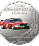 10012_D_Reverse of the 2018 fifty cent uncirculated High Octane Ford Performance Collection Coin - Mustang_1
