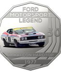 10014_D_Reverse of the 2018 fifty cent uncirculated High Octane Ford Performance Collection Coin - XC Falcon_1