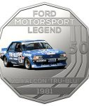 10015_D_Reverse of the 2018 fifty cent uncirculated High Octane Ford Performance Collection Coin - XD Falcon_1