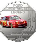 10016_D_Reverse of the 2018 fifty cent uncirculated High Octane Ford Performance Collection Coin - Sierra_1