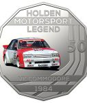 10023_D_Reverse of the 2018 fifty cent uncirculated High Octane Holden Performance Collection Coin - VK Commodore_1