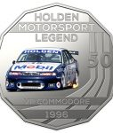 10024_D_Reverse of the 2018 fifty cent uncirculated High Octane Holden Performance Collection Coin - VR Commodore_1