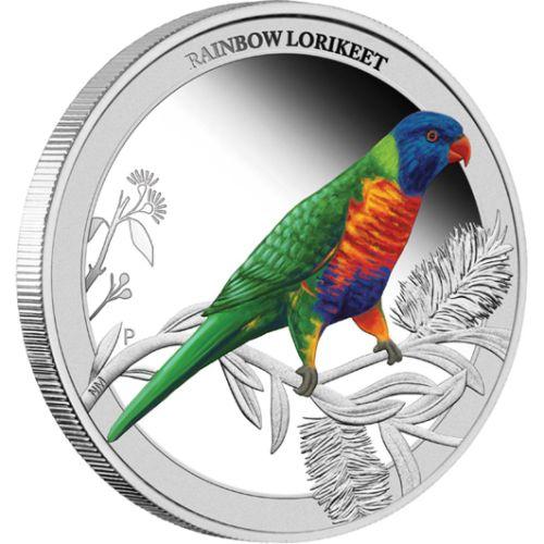 0-2013-Birds-Of-Australia-RainbowLorikeet-Silver-Half-oz-Coin-Reverse