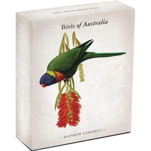 0-2013-Birds-Of-Australia-RainbowLorikeet-Silver-Half-oz-Coin-Shipper